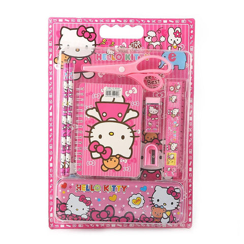Kitty Stationery Set - Pink - test-store-for-chase-value