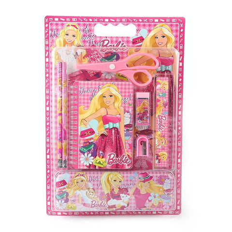 Barbie Stationery Set - Pink - test-store-for-chase-value