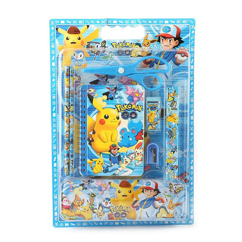 Pokemon Stationery Set - Blue - test-store-for-chase-value