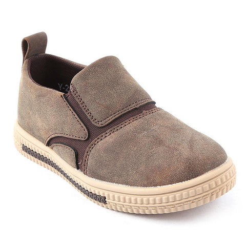 Boys Casual Shoes Y-2652 - Coffee - Brown - test-store-for-chase-value