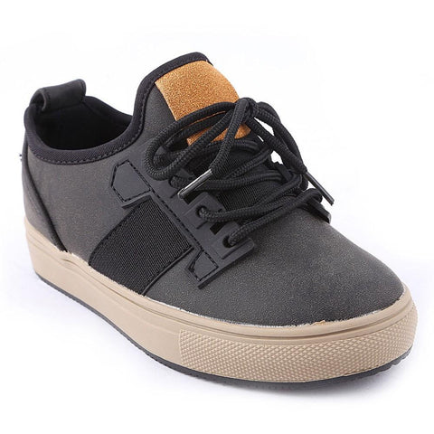 Boys Casual Shoes Y-2653 - Black - test-store-for-chase-value