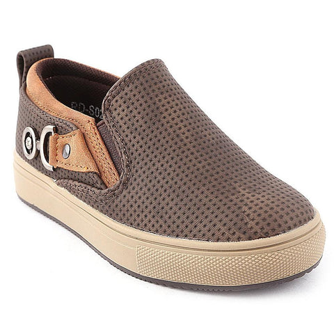 Boys Casual Shoes RD-S02 - Coffee - Brown - test-store-for-chase-value