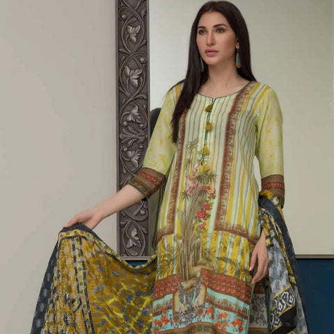 Chase Value Centre Digital Printed Festive Lawn Suit - 01 - test-store-for-chase-value