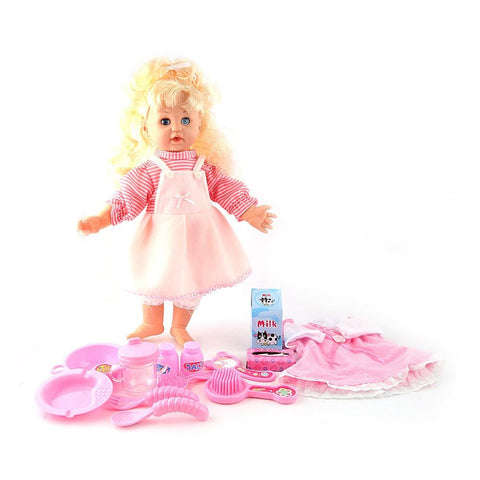 My Little Baby Musical Doll - Light Pink - test-store-for-chase-value