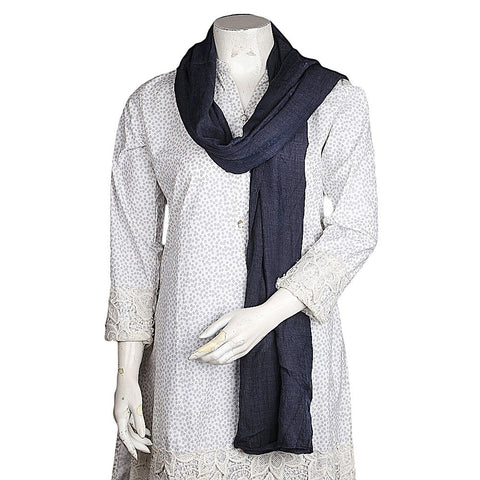 Women's Stole - Dark Grey - test-store-for-chase-value