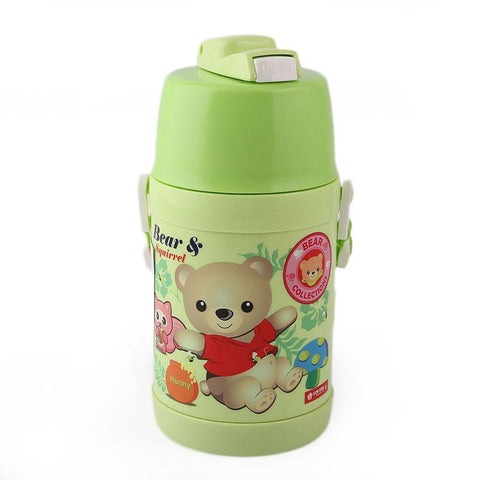 Lion Star School Water Bottle HU-36 550ml - Light-Green - test-store-for-chase-value