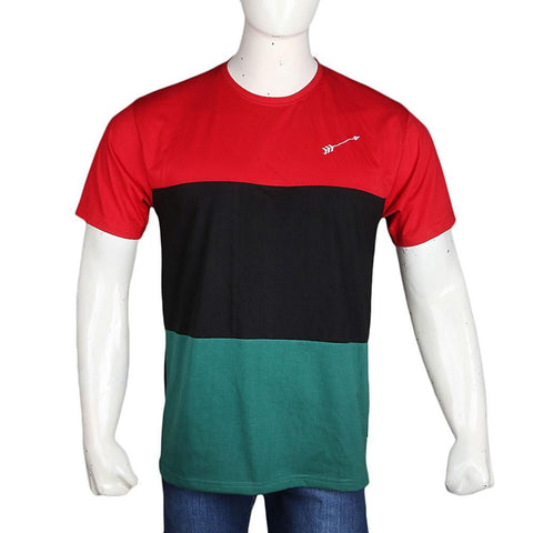 PPP Election T-Shirt For Men - Red & Black - test-store-for-chase-value