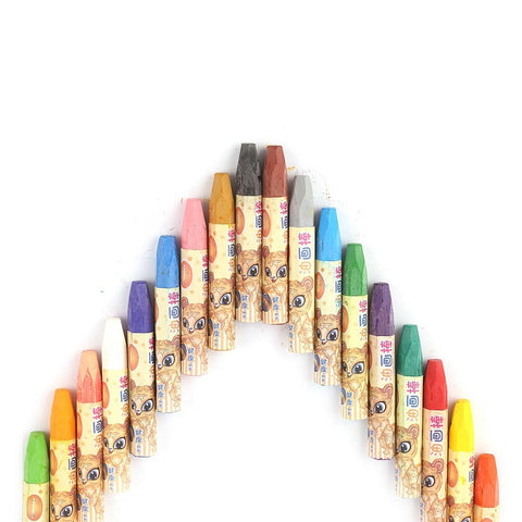 Oil Pastels 18 Pcs Set - Yellow - test-store-for-chase-value