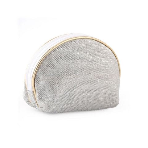 Makeup Pouch Medium - Silver - test-store-for-chase-value