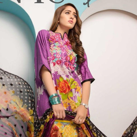 Noor Jahan Embroidered Lawn Suit - 01 - test-store-for-chase-value