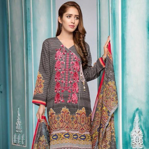 Noor Jahan Embroidered Lawn Suit - 11 - test-store-for-chase-value