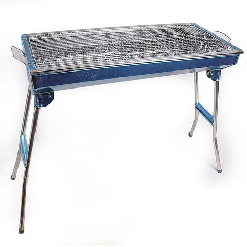Portable BBQ Grill MD-8009 - Silver - test-store-for-chase-value