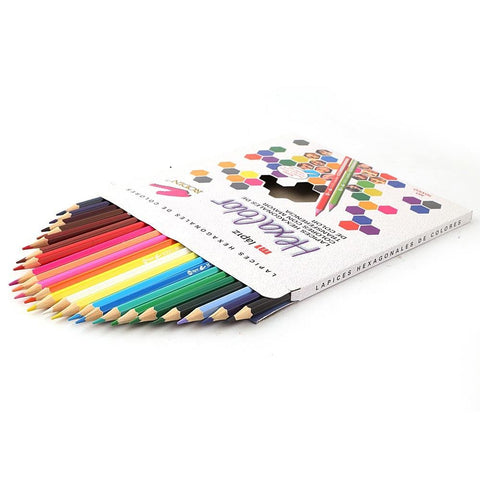 Colored Pencils 24 Pcs Set - Multi - test-store-for-chase-value
