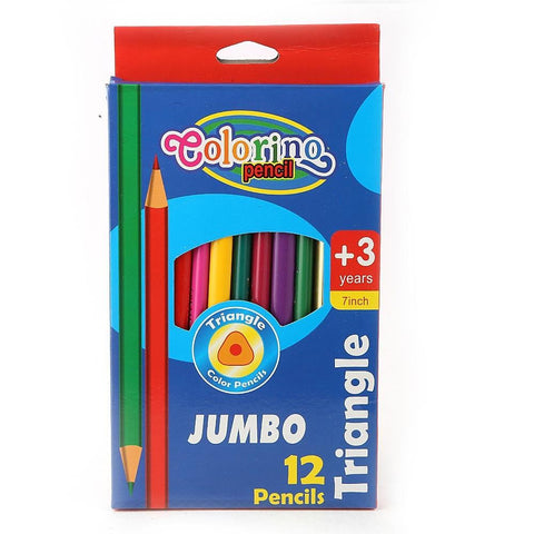 Colored Pencils 12 Pcs Set - Multi - test-store-for-chase-value
