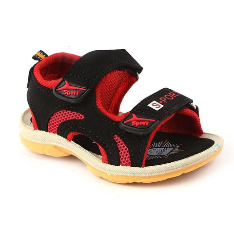 Boys Sandals 1521 - Black - test-store-for-chase-value