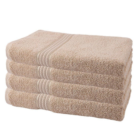 Bath Towel - Light Brown - test-store-for-chase-value