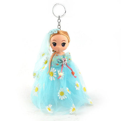 Doll Keychain - Cyan - test-store-for-chase-value