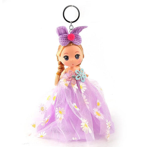 Doll Keychain - Purple - test-store-for-chase-value