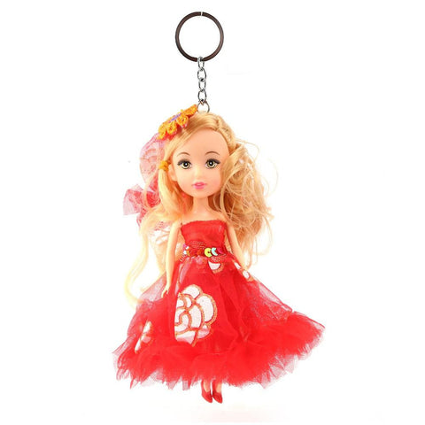 Doll Keychain - Red - test-store-for-chase-value