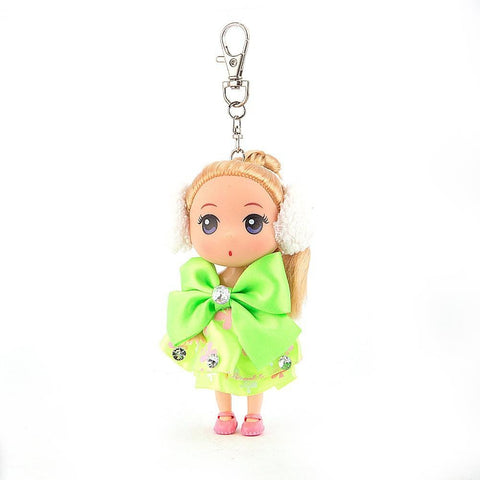Doll Keychain - Green - test-store-for-chase-value