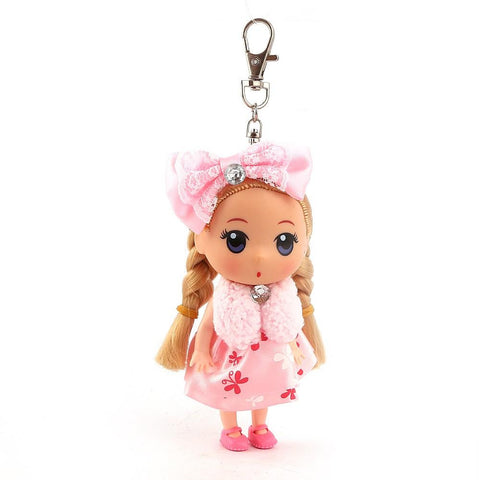 Doll Keychain - Light Pink - test-store-for-chase-value