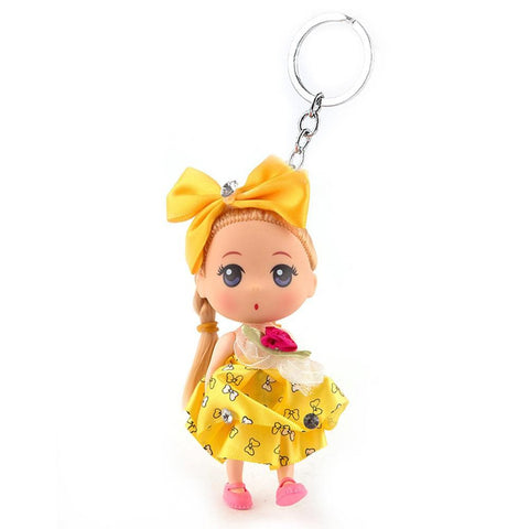 Doll Keychain - Yellow - test-store-for-chase-value