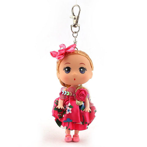 Doll Keychain - Pink - test-store-for-chase-value