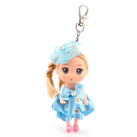 Doll Keychain - Light Blue - test-store-for-chase-value