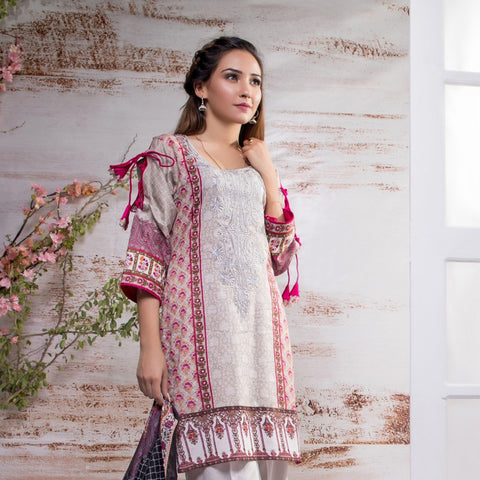Sahil Embroidered Lawn Suit Vol-7 - 11A - test-store-for-chase-value