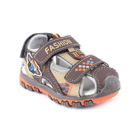 Boys Sandals CVC-01 - Brown - Coffee - test-store-for-chase-value