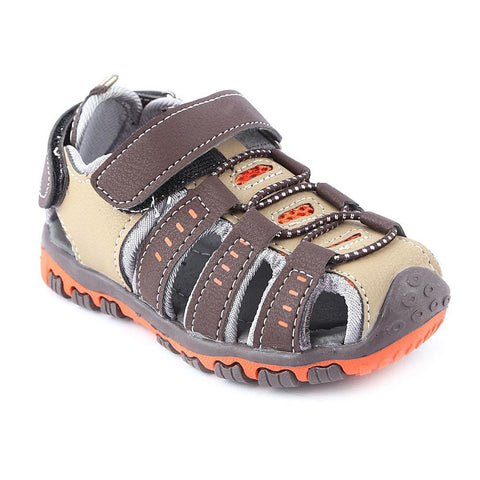 Boys Sandals CVC-02 - Brown - Coffee - test-store-for-chase-value