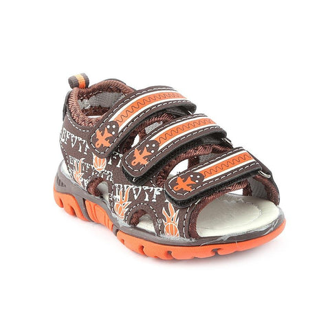 Boys Sandals CVC-04 - Brown - Coffee - test-store-for-chase-value