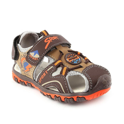 Boys Sandals CVC-05 - Brown - Coffee - test-store-for-chase-value