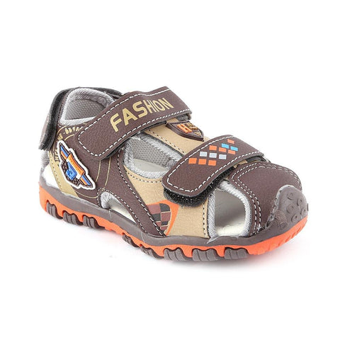 Boys Sandals CVC-1-2 - Brown - Coffee - test-store-for-chase-value