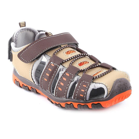 Boys Sandals CVC-2-2 - Brown - Coffee - test-store-for-chase-value