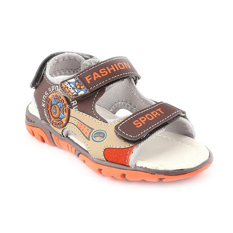 Boys Sandals CVC-3-2 - Brown - Coffee - test-store-for-chase-value