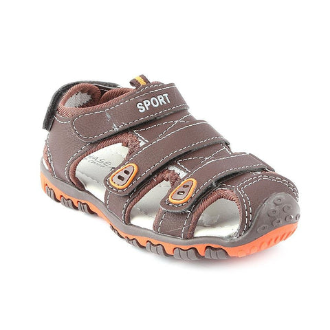 Boys Sandals CVC-6-1 - Brown - Coffee - test-store-for-chase-value