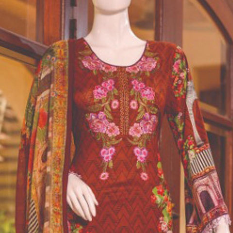 Chase Value Centre Embroidered Lawn Suit - 4A - test-store-for-chase-value