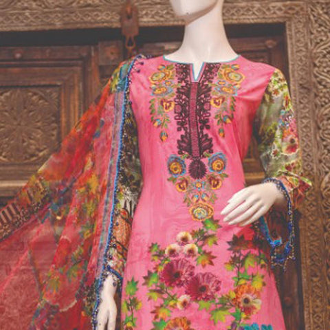 Chase Value Centre Embroidered Lawn Suit - 5B - test-store-for-chase-value