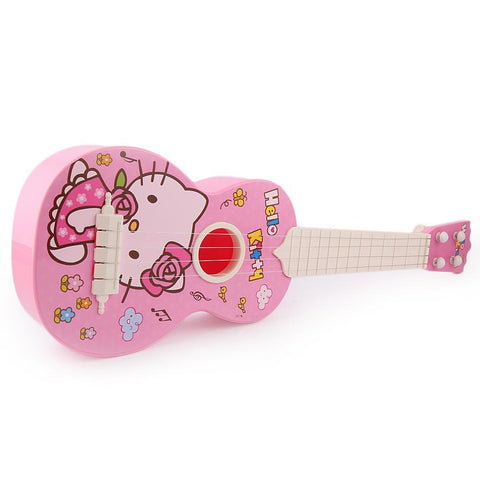 Ukulele Hello Kitty String Guitar - Pink - test-store-for-chase-value