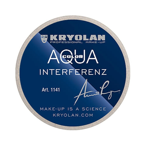 Kryolan Aquacolor Interferenz 8 ml - Light Gold G - test-store-for-chase-value
