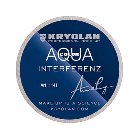 Kryolan Aquacolor Interferenz 8 ml - Silver - test-store-for-chase-value