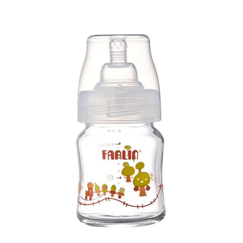 Farlin Wide Neck Glass Feeder - 120-ML - test-store-for-chase-value