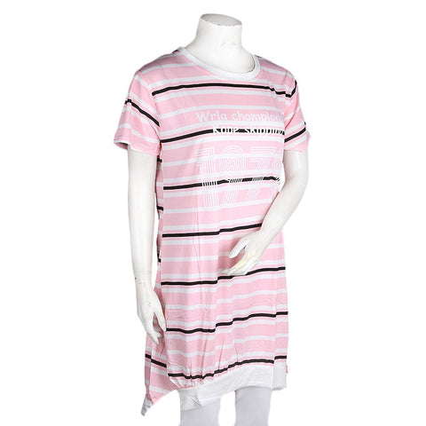 Women's Night Top - Light Pink - test-store-for-chase-value