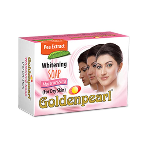 Golden Pearl Moisturizing Whitening Soap For Dry Skin - 100gm - test-store-for-chase-value