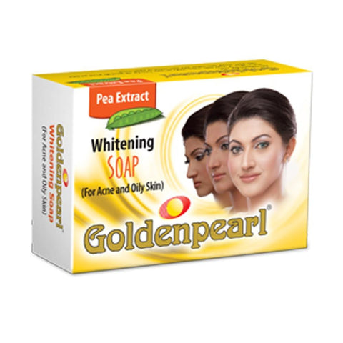 Golden Pearl Whitening Soap For Acne & Oily Skin - 100gm - test-store-for-chase-value