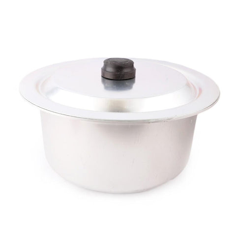 Anodize Silver Cooking Pot - test-store-for-chase-value