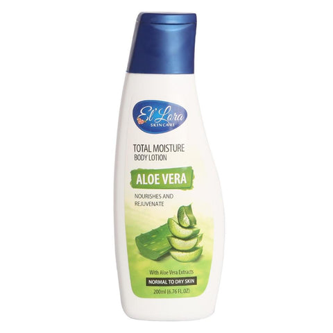 El'Lora Total Moisture Body Lotion Aloe Vera - 200ML - test-store-for-chase-value