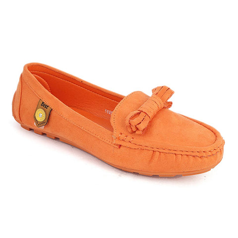 Women's Casual Shoes (1695-1) - Orange