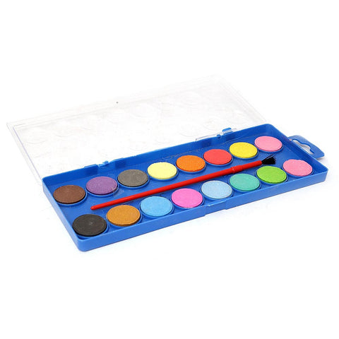 Watercolor 16 Pcs Set - Multi - test-store-for-chase-value